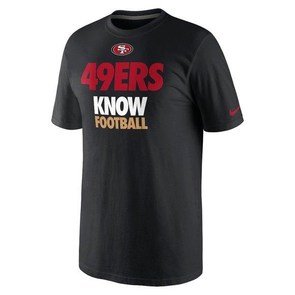 Nike San Francisco 49ers Know Football Draft Shirt